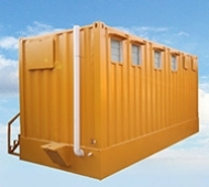 Container Toilets / Shower Rooms
